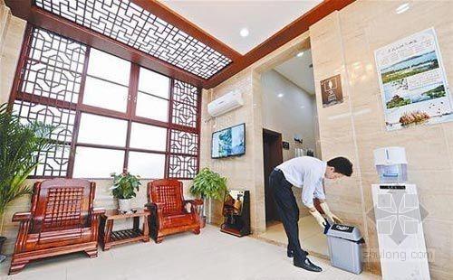 公厕堪比茶室 探究五星公厕给排水设计