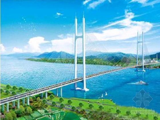 广东第一大跨斜拉桥186米高塔封顶