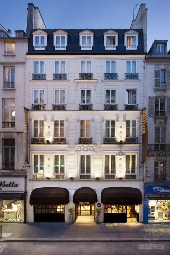 北京丽枫酒店施工图资料下载-巴黎布丽泽尔酒店设计 优雅大方