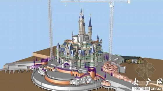 上海迪士尼乐园应用BIM整合设计施工
