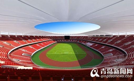 体育馆维修改造施工资料下载-国信体育馆改造竣工 座椅中国红草皮媲美鸟巢