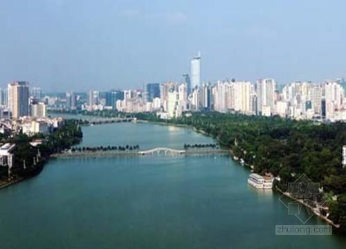 """广西南宁投巨资整治湖泊污染打造""""中国水城"""""""