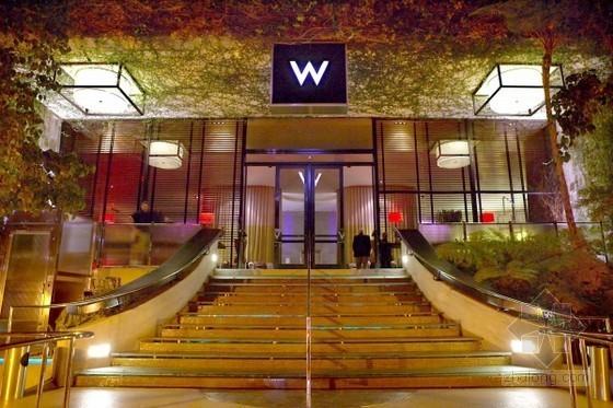 洛杉矶西部伍德W酒店软装艺术设计 高贵大气