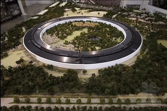 苹果公司公开新总部沙盘 如宇宙飞船