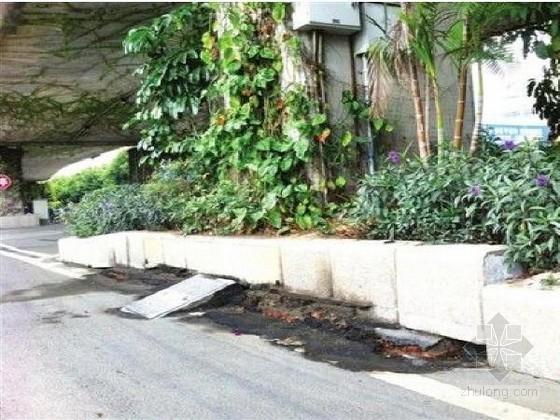 事件追踪 福州高架桥桥墩地面下沉现裂缝
