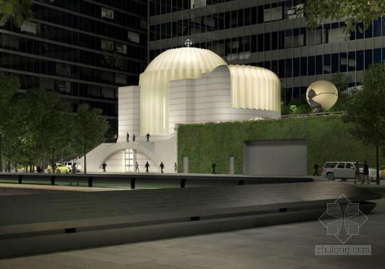 AECOM纽约曼哈顿911遗址上的新自由公园