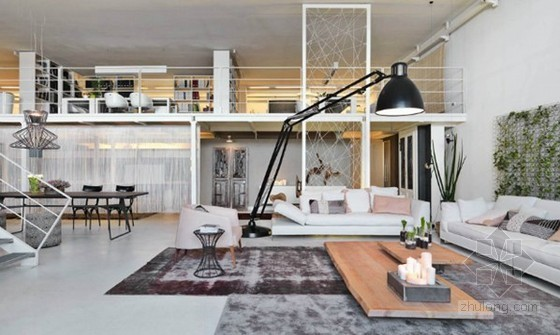 独特的loft家居装修设计 颇具个性张力