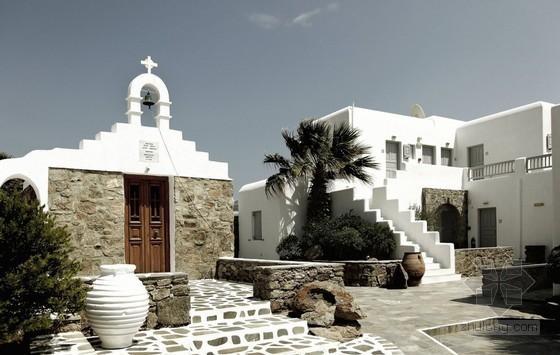 希腊SanGiorgio酒店装修设计 别有一番风味