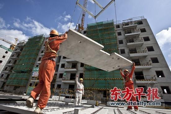 上海首批预制装配式保障房 可有效抵御7级地震