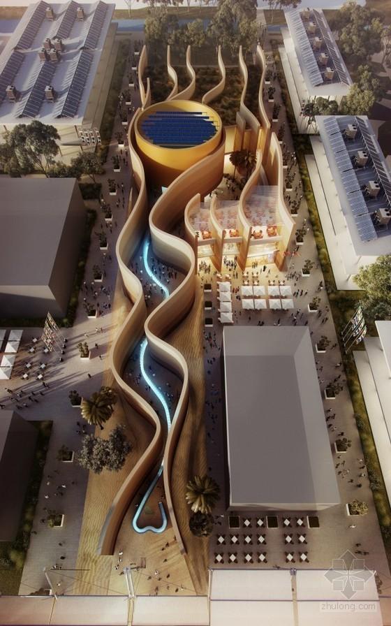 福斯特设计的2015年米兰世博会阿联酋馆