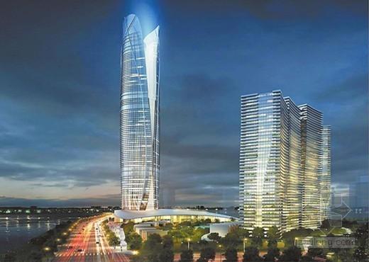 南宁骋望天玺增至435米 欲夺广西第一高楼