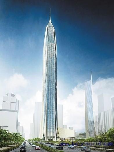 中国七大500米以上在建超高层建筑进展状况