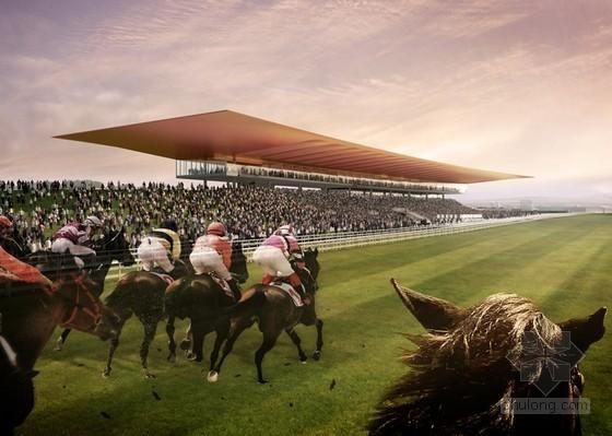 Grimshaw设计的爱尔兰Curragh赛马场看台
