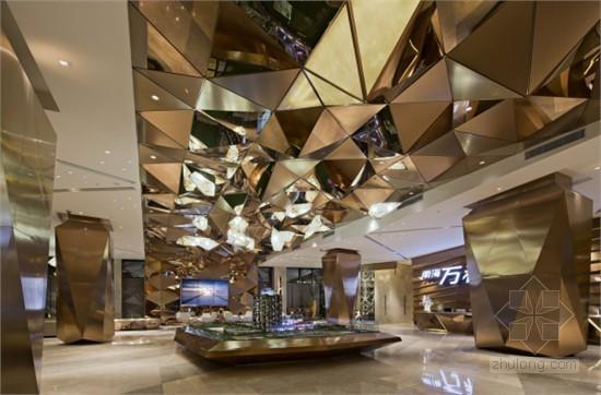 广东南海万科广场售楼部设计 强烈视觉对话