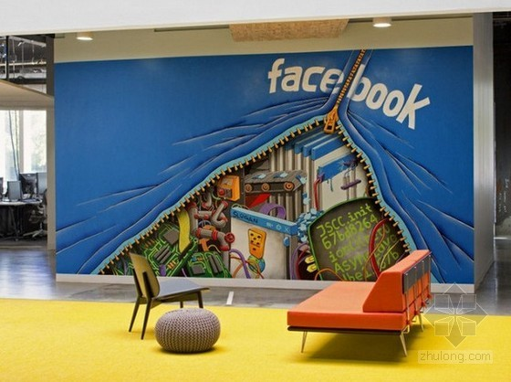 Facebook美国新总部办公室设计