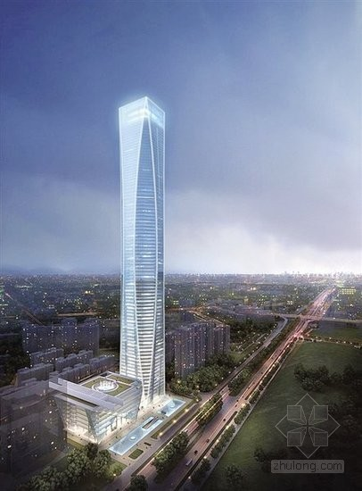 广西南宁将建起400米超高层建筑