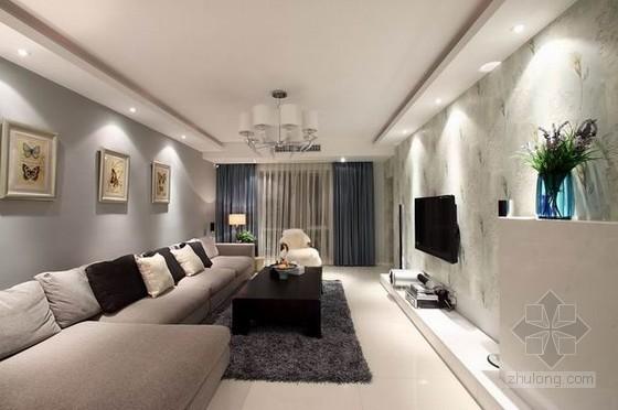 现代感公寓资料下载-现代感十足的120平米公寓设计