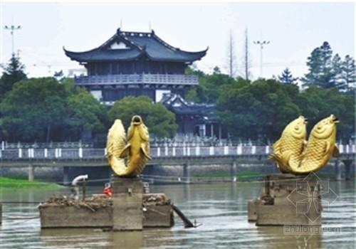 金华造价千万亚洲第一喷泉频频罢工 尴尬沉默江心