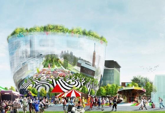 MVRDV设计的鹿特丹公共艺术仓库