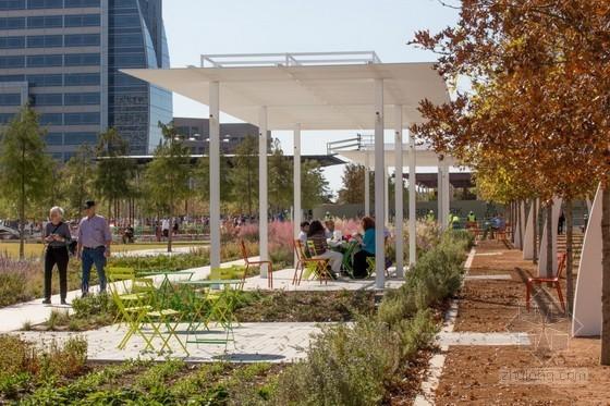美国达拉斯城市公园景观设计
