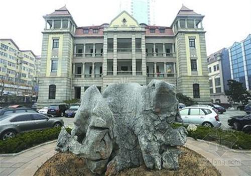 青岛东莱银行将成私人博物馆 土豪金门造价数万