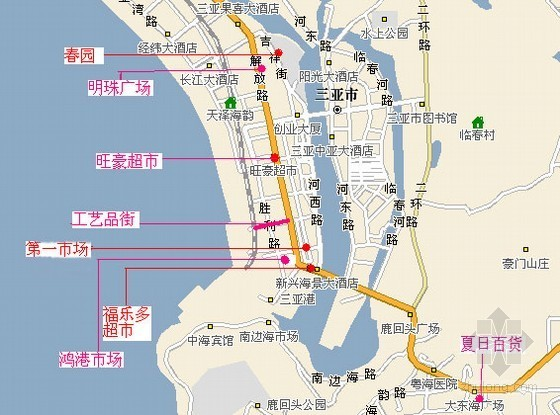 三亚拟斥资7亿元改造解放二路 将建地下商业街