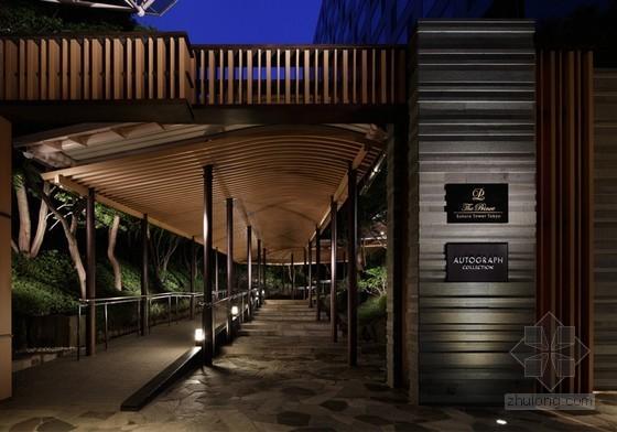 东京日式花园式樱花塔王子酒店设计