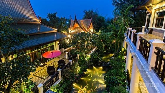 兰纳风格特色的清迈斯瑞姆潘精品Spa度假酒店设计