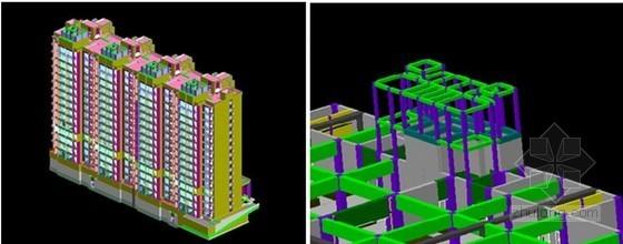 北京住总0024居住用地项目应用BIM算量