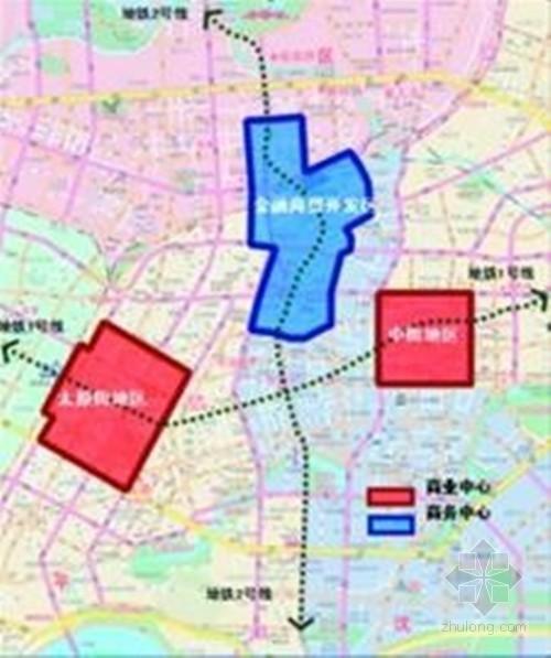 盛京皇城(中街)地下空间中街地区地下空间将重点强调现有地下空间资源图片