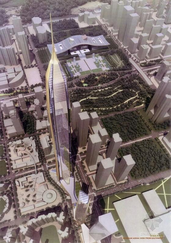 深圳平安金融中心已达330米