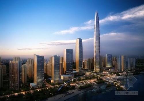 滨湖未来将再建3座摩天大楼 或成安徽第一高楼