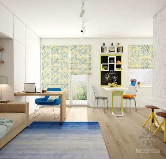 绝妙室内大改造 30㎡超级小户型装修设计