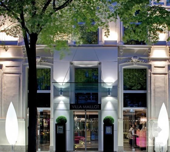 巴黎麦罗特别墅酒店设计 观赏精致的日式花园
