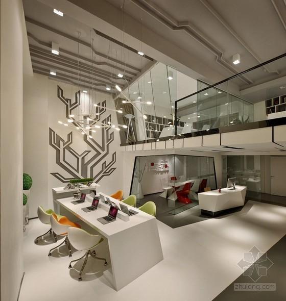 成都万科钻石广场loft办公室设计 不规则诠释自然美