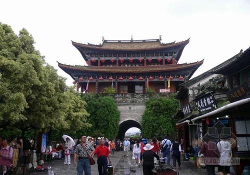 云南腾冲县投资10亿打造南门外文化旅游景区