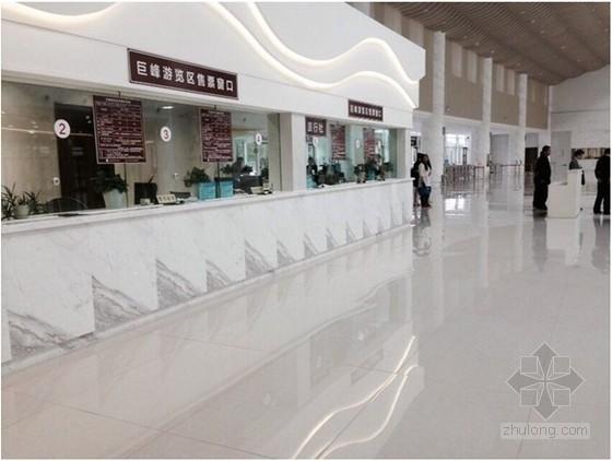蒙娜丽莎陶瓷薄板工程巡礼:青岛崂山风景区旅游接待中心
