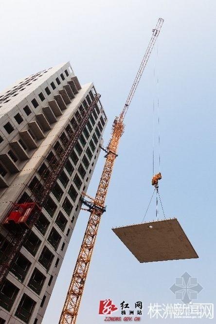 像造汽车一样造房子 示范区两栋高楼6个月封顶