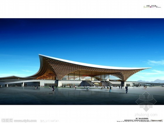 贵阳北站屋盖钢结构工程启动 年底启用