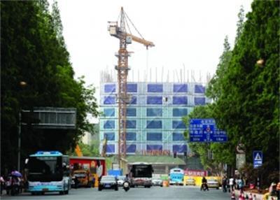 南京政府大楼被削顶改造 因破坏城市天际线