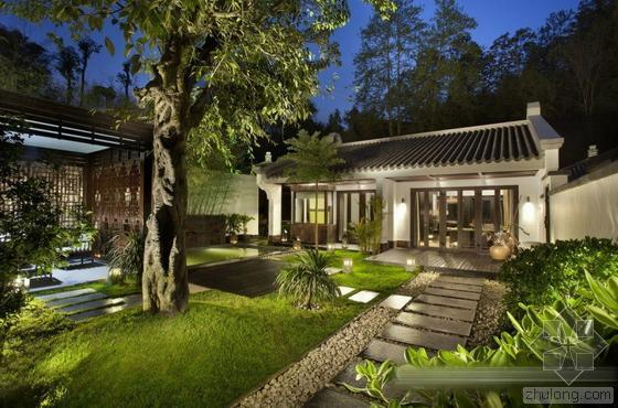 新中式园林景观的传承与发展