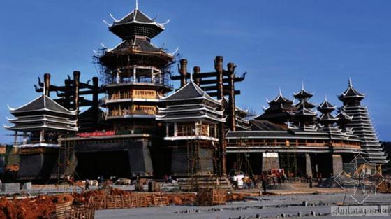 贵州文化旅游展示中心竣工在即 将成世界最大鼓楼群