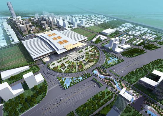 南京南站打造三层地下空间 规划南站地区第一高楼