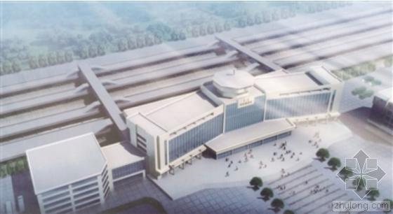 呼和浩特有史以来最大的一次火车站站改施工全面启动