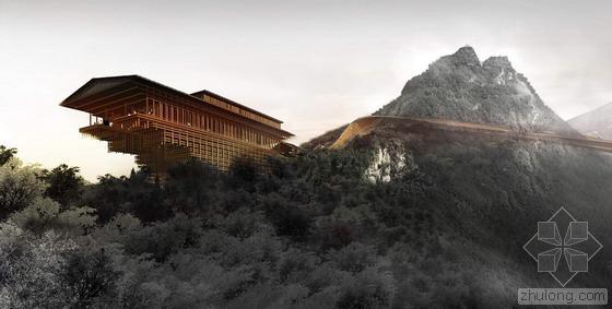 陕西少华山国家森林公园潜龙寺景区概念性规划方案