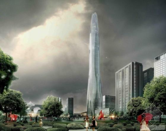 天津周大福金融中心开始主体施工  应用BIM攻克高难度特殊结构