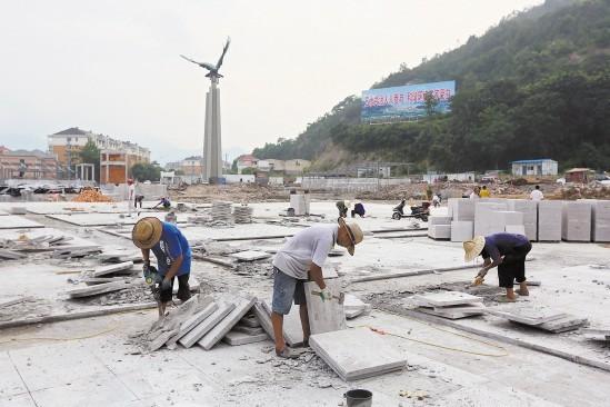 台州靖江广场城市综合体8月底完工