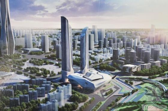 """南京青奥中心双塔楼全球首创300米超高层建筑 """"全逆作法""""施工"""