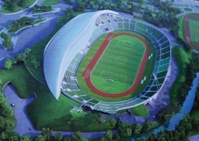 """扬州体育公园雏形已现 """"扬州碗""""亮点设计抢先看"""