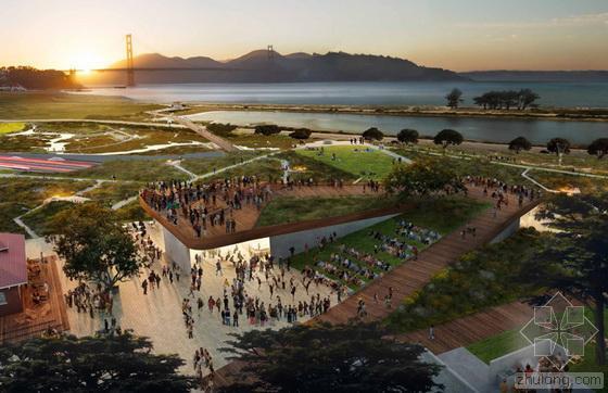旧金山Presidio公园参赛设计方案揭晓